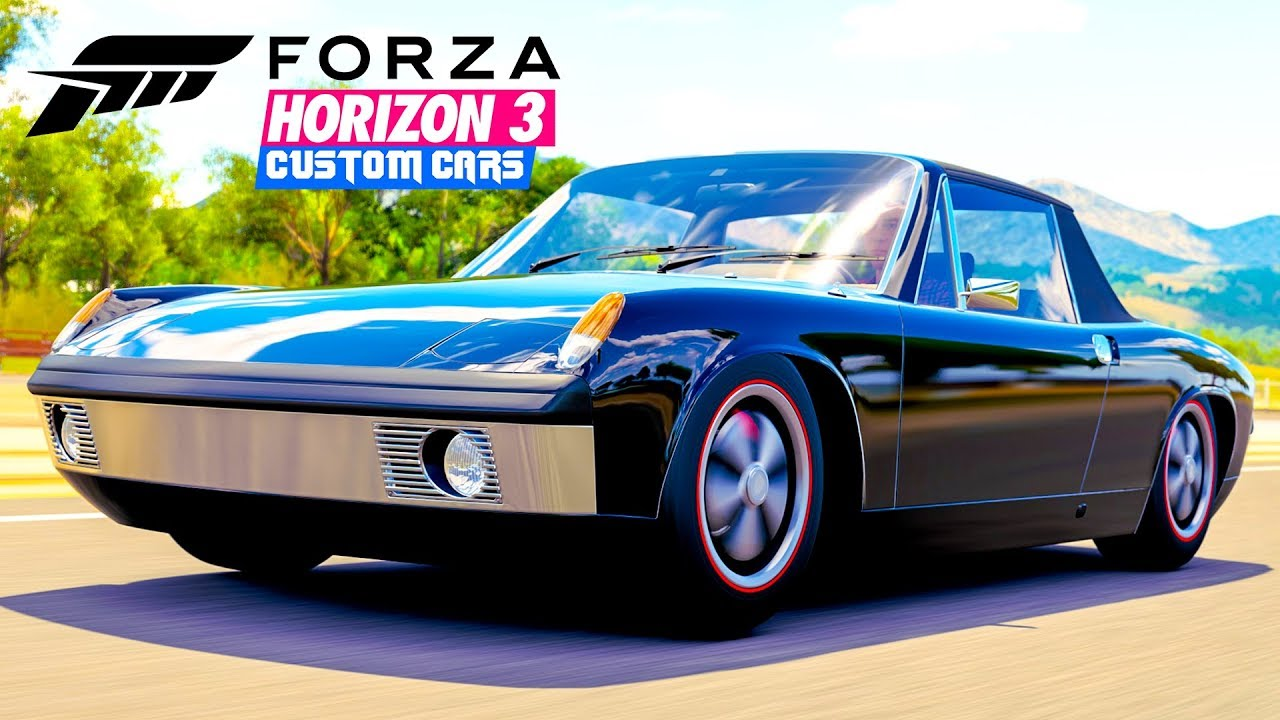 forza horizon 3 custom cars porsche 914 6 build youtube. Black Bedroom Furniture Sets. Home Design Ideas