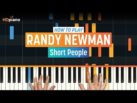 "How To Play ""Short People"" by Randy Newman 