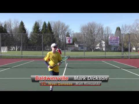 Spring Boys Varsity Baldwinsville Tennis VS West Genesee 4/18/2017