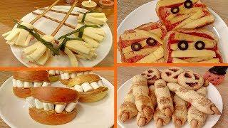 Праздничный стол на ХЭЛЛОУИН 🎃 Рецепты вкусняшек!