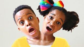 Shiloh HAS TWO HEADS AGAIN!! - Shiloh And Shasha - Onyx Kids