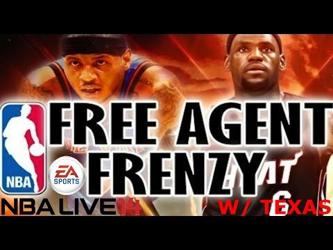 #NBALive Ultimate Team | 2014 NBA Free Agency | Lebron Going Home, Daryl Moray Is Salty, & More