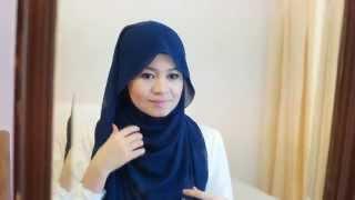 Daily Hijab Tutorial #1 by R Nadia Sabrina