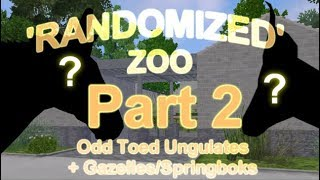 Odd Toed Ungulates + Gazelles/Springboks #2 -