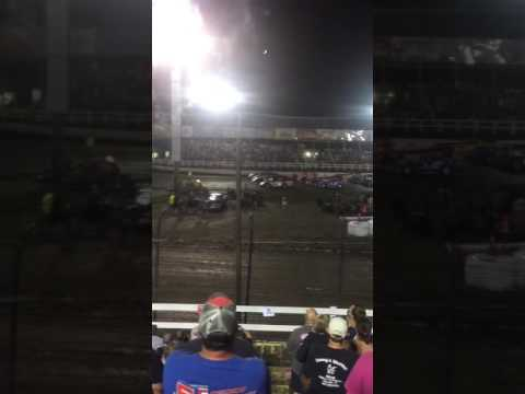 Macon Speedway Hell-Tour parade lap