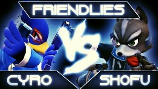 SSB4: Cyro (Falco) vs. shofu (Fox)