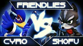 SSB4: Cyro (Falco) vs. shofu (Fox)