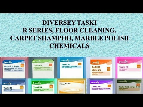 DIVERSEY TASKI  CHEMICALS /R Series Chemicals,carpet Shampooing Chemicals,Marble Polishing Chemicals