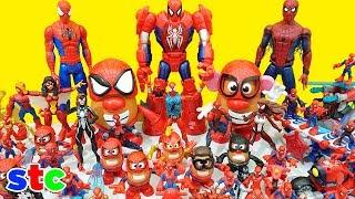 Spiderman Coleccion de Juguetes Lego Super Heroes Playskool y Potato Head