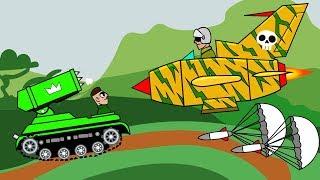 Вертолет с РАКЕТАМИ Против ТАНКА⚡БЕЗУМНОЕ ТАНКОВОЕ сражение В ДЖУНГЛЯХ⚡ кто Победит?