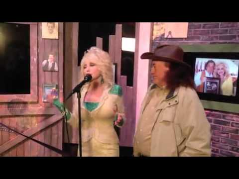 Dolly Parton and her Uncle Bill Owens