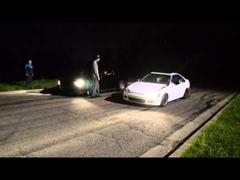 H22 Swap Honda vs 5.0 Mustang