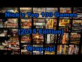 Nick's Top 100 Games [2015]: Wrap-up - Board Game Brawl