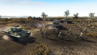 NO RETREAT 1944 Defensive Line Final Stand | Men of War: Assault Squad 2 Gameplay
