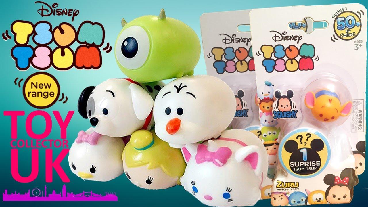 New Disney Tsum Tsum Squishy Blind Surprise Packs