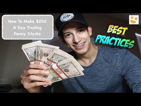 How To Make $250 A Day: Day Trading Penny Stocks: $JNUG, $TOPS & $DRYS | Episode 60