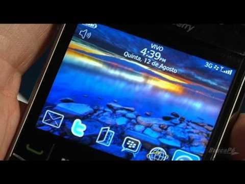 Smartphone BlackBerry Bold 9700 - BuscaPé Vídeos
