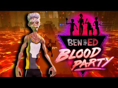 BATTLES, RACES, AND BODY PARTS! | Ben and Ed Blood Party Part 1