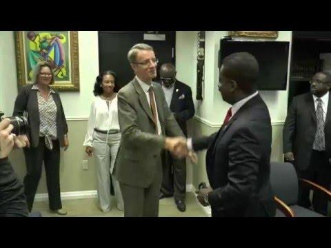 French Consul visits North Miami Mayor Smith Joseph