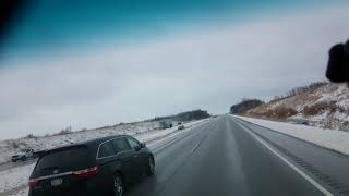 Gambar cover Slippery roads Saturday April 14th Manitowoc County Manitowoc cars in ditch