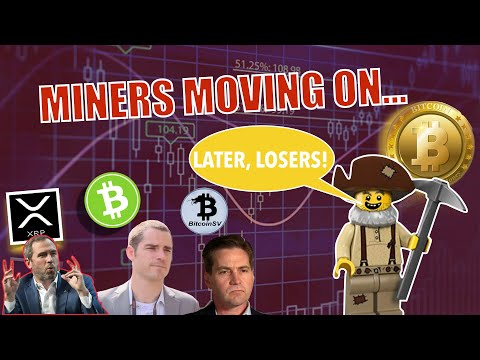 BREAKING NEWS! BSV & BCH Halving in 1 WEEK & Miners are DONE! XRP Escrow (AGAIN) and Tezos UP BIG!
