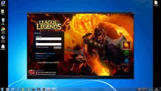 League of legends - Oturum açma hatası ve Çözümü! (%85)