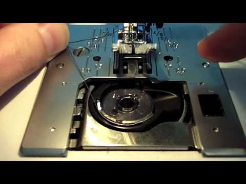 How to Load a Top Loading Bobbin Sewing Machine - Learn to Sew Series