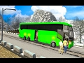 Snow Off-Road Hill Bus Driving (by MobilMinds Apps) New Bus Simulator 2017 - Best Android Games 2017
