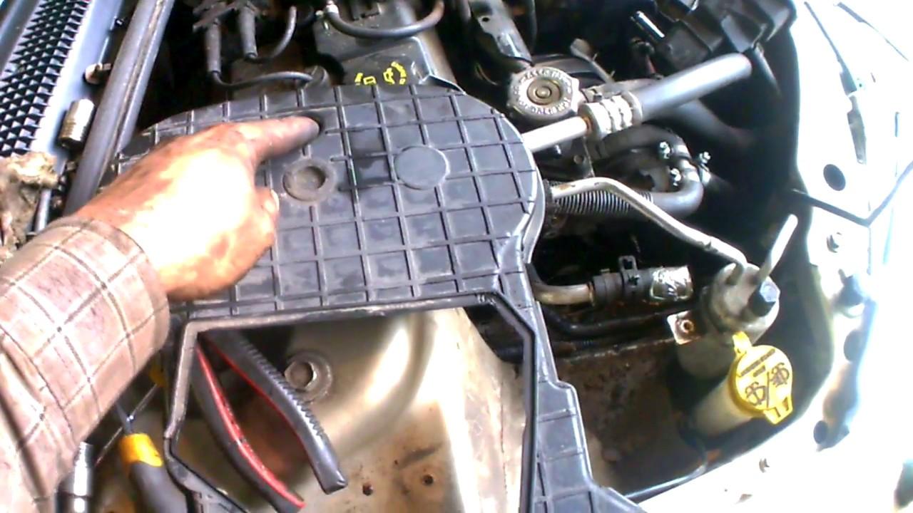hight resolution of chrysler sebring timing belt replacement on 2 0 16v engine diy