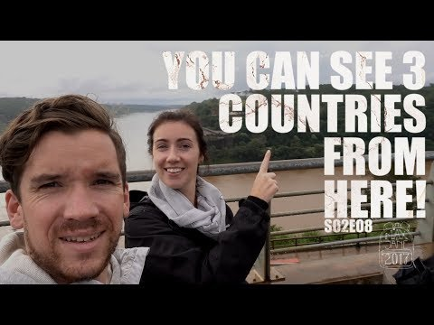 Puerto Iguazu, Argentina | Seeing 3 countries from 1 point! | South America Travel Vlog E08