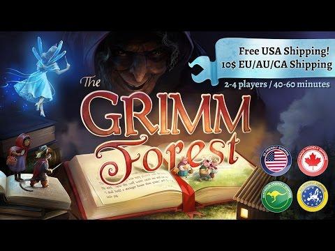 The Grimm Forest - Kickstarter project video