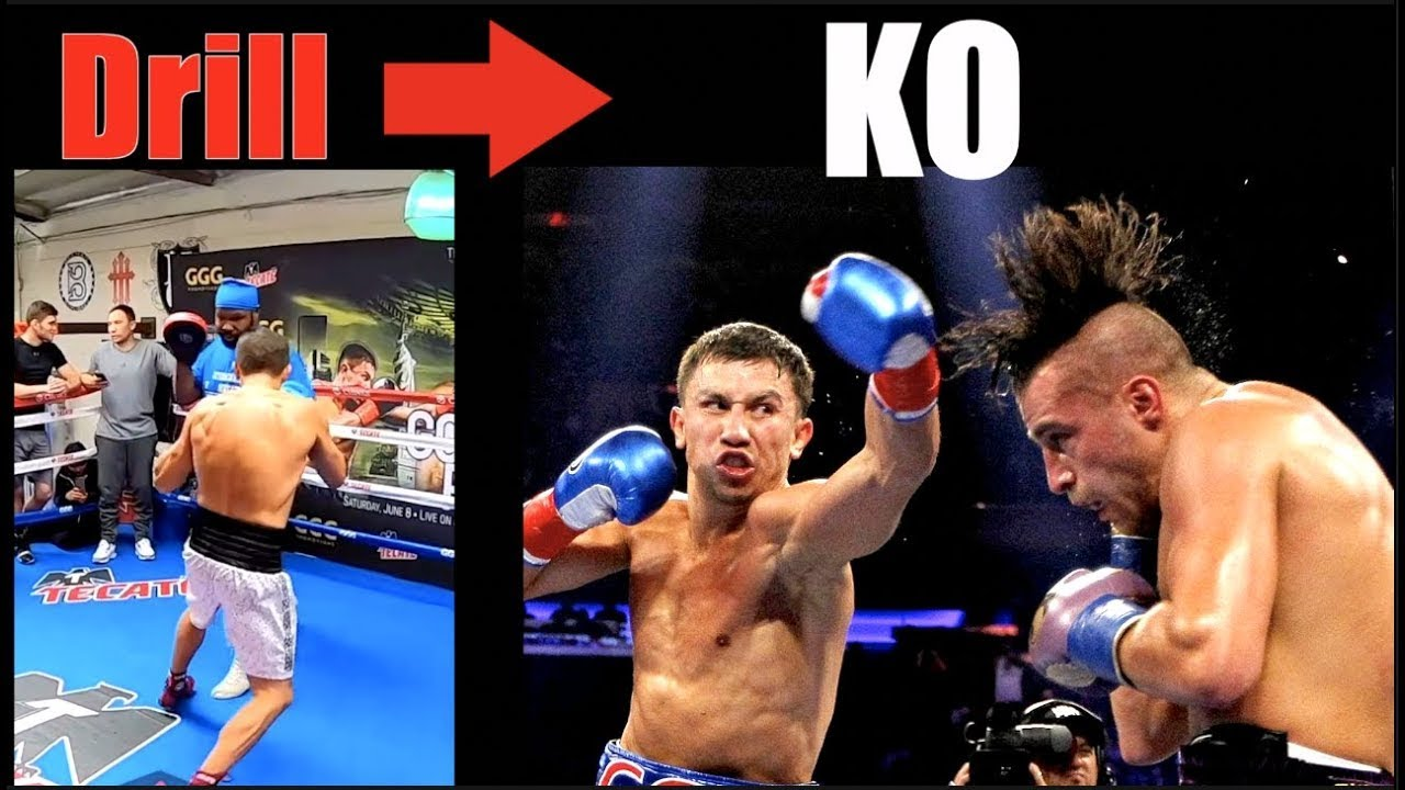 GGG - Powerful Drills That Became KO's - RE-UPLOADED