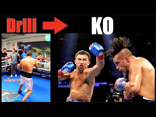 GGG -  How Powerful Drills Became KO's