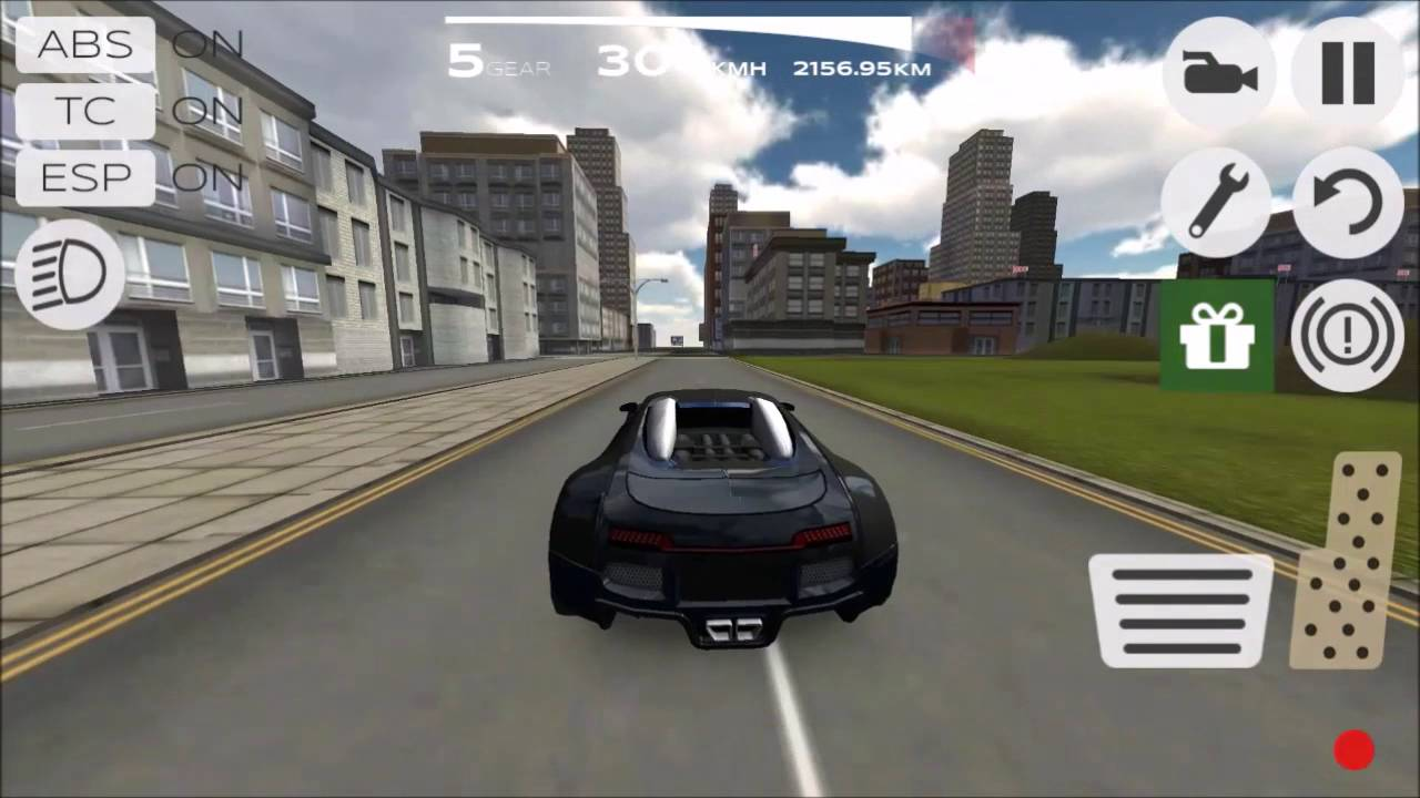 Super car city driving sim free games free online - Extreme Car Driving Simulator Fast City Run In The Bugatti