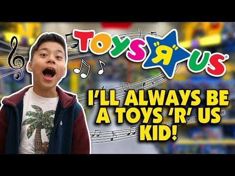 "I DON&39;T WANNA GROW UP - Toys ""R"" Us Jingle - Family   wBloopers COMEBACK???"