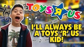 "I DON'T WANNA GROW UP - Toys ""R"" Us Jingle - Family Music Video w/Bloopers"