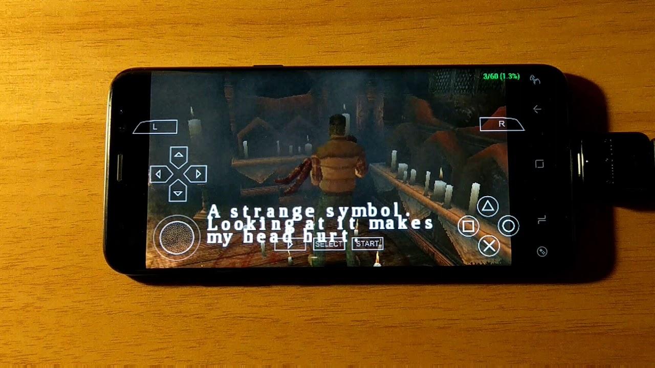 Samsung Galaxy S8 (Exynos) - Silent Hill: Origins - PPSSPP v1 4 2 - Test