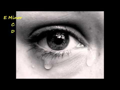 Sad Emotional Ballad Guitar Backing Track in E Minor