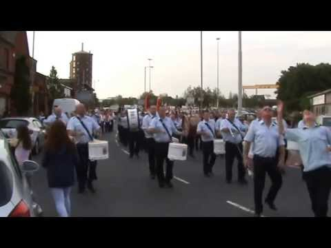 Somme 1st July Parade East Belfast 2015