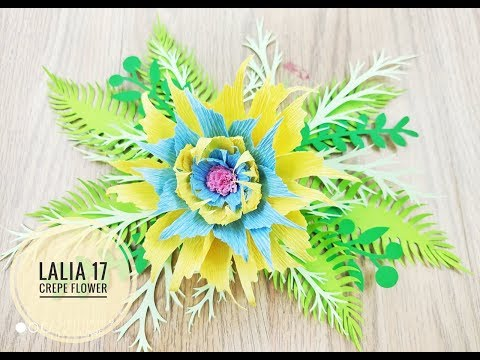Lalia 17 crepe DIY Crepe Paper flower backdrop