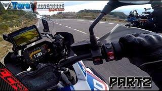 Toro Adventure Vlogger Meetup Part 2 | The 1250 GS kicks Butt!