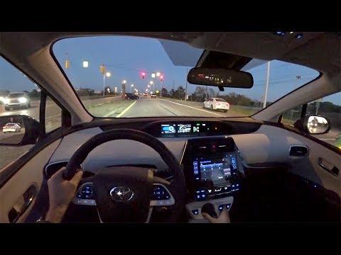 2017 Toyota Prius Prime Plus - Walkaround & POV Sunset Drive