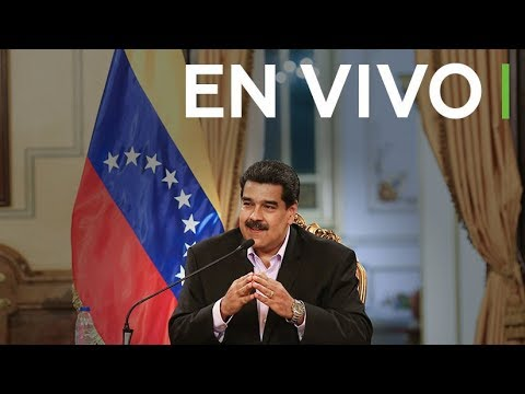 Rueda de prensa de Nicolás Maduro, presidente de Venezuela