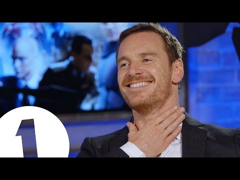 """Right in the throat!"" -  Michael Fassbender got SHOT behind-the-scenes of X-Men"
