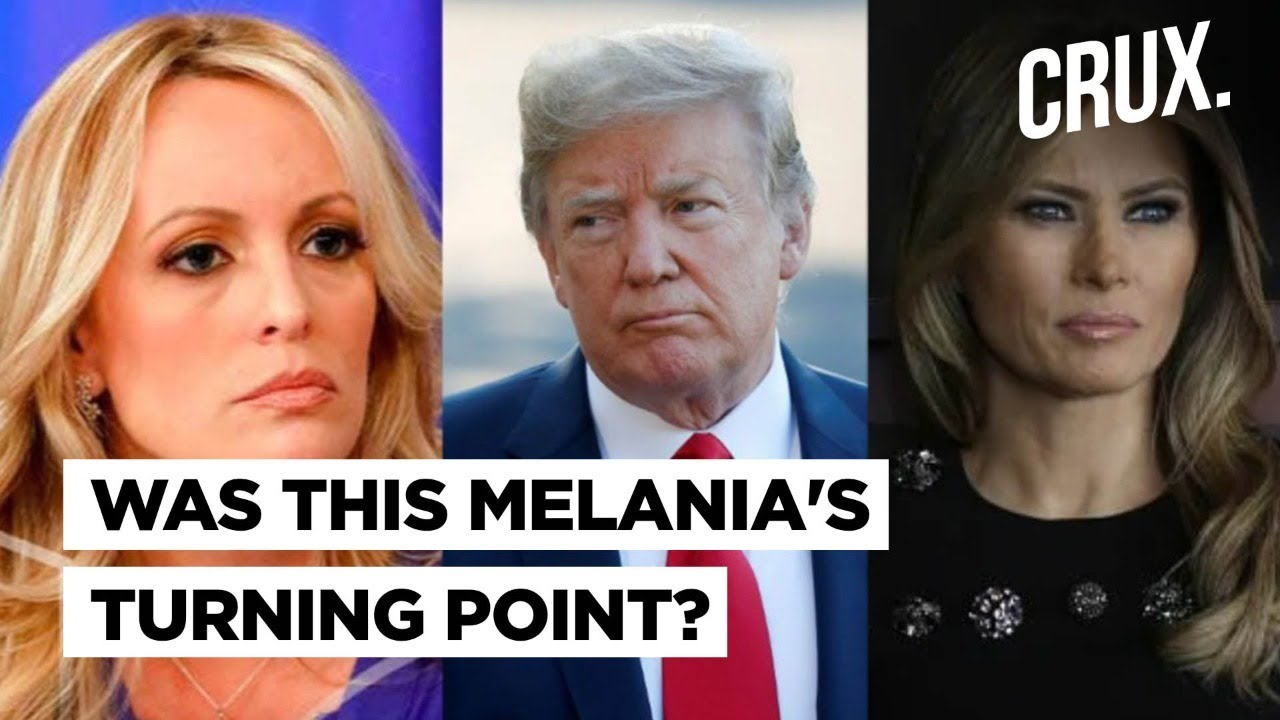 Download How Melania Reacted To Stormy Daniels' Charges Against Donald Trump l Former Aide Reveals In Book