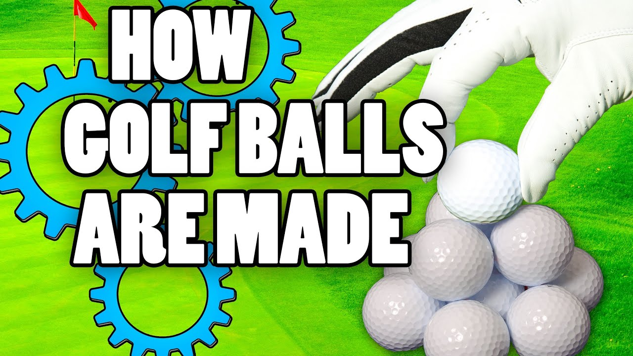How Are Golf Balls Made? - YouTube