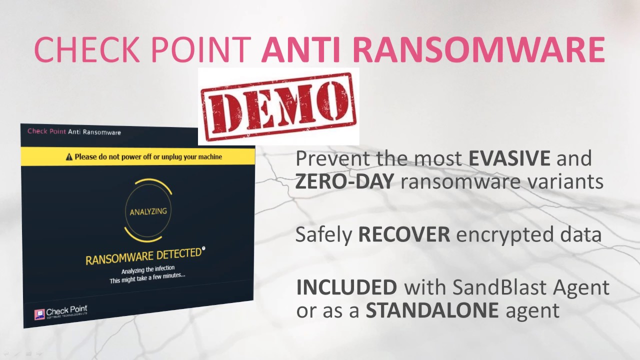 Anti-Ransomware: Solution Brief & Demo | Tech Bytes