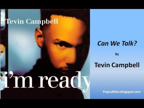 Tevin Campbell  Can We Talk? Lyrics