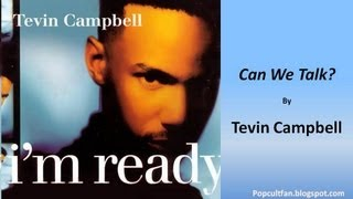 Download lagu Tevin Campbell - Can We Talk? (Lyrics)