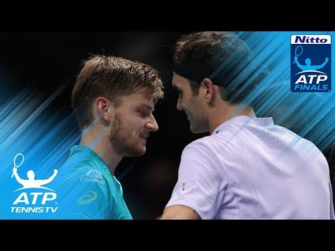 Goffin stuns Federer to reach London final | Nitto ATP Finals 2017 Highlights Day 7